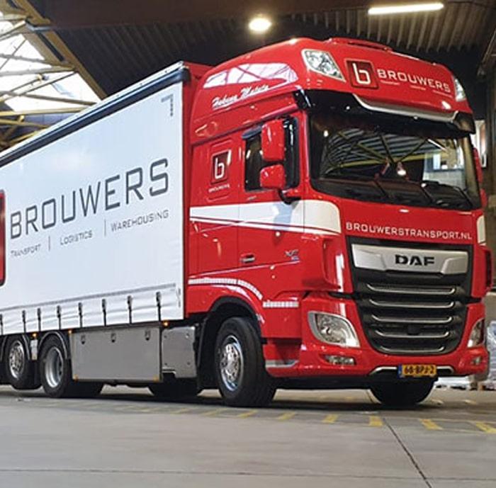 Transport van Brouwers